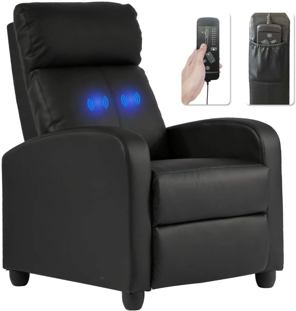 Recliner Chair for Living Room Massage Recliner Sofa Reading Chair